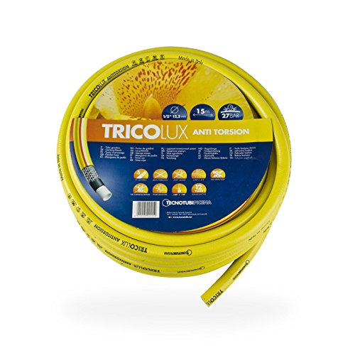 Tuyau d'arrosage tricolux anti-torsion 3/4'25 mm - 50 m/24 bar 25 m