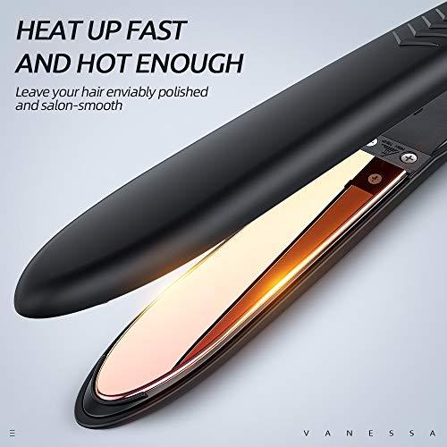 VANESSA Flat Iron Titanium Hair Straightener