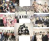 LLGL-EU - 8 pósteres de BTS Bangtan Boys, Jungkook/Jimin/V/Suga/Jin/J-Hope/Rap Monster para decoración, decoración de Pared, Adhesivo de Pared, colección The Army