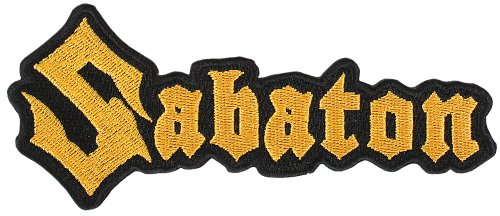 SABATON, Logo - cut out - Patch