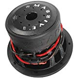 Car Subwoofer by Massive Audio HIPPO84V2 – 8 Inch Car Audio 500 Watt Hippo Series Competition Subwoofer, Dual 4 Ohm, 2.5 Inch Voice Coil, Sold Individually