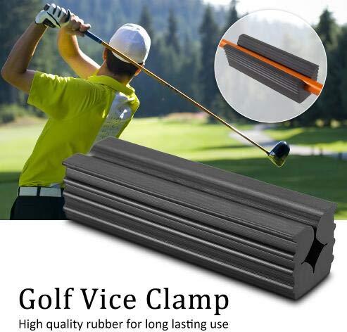 Schraubstockklemme aus Gummi Schraubstockklemmen mit Professionellem Griff für Die Reparatur von Golfschlägern