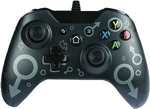 Zamia Wired Controller for Xbox One, USB Wired Gamepad Game Controller for Xbox One/One S/One X/One Elite/Windows 7/8/10, ...