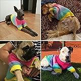 HELEVIA Helivia - Jersey de Punto para Perros, diseño de Bulldog, JJ0572258_XL-953-1437240161