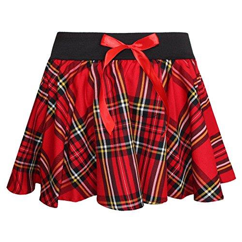 Other - Falda - para Mujer Rojo Rosso L/XL