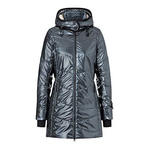 Bogner Fire + Ice Ladies Irma Grau, Damen Daunen Wintermantel, Größe 36 - Farbe Wolf