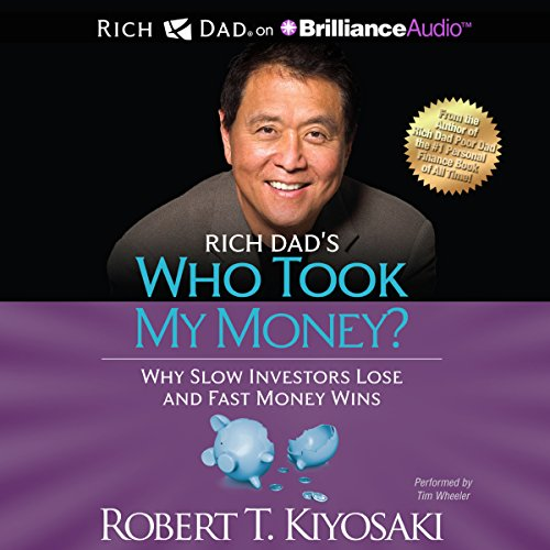 Rich Dad's Who Took My Money? audiobook cover art