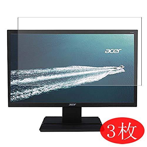 【3 Pack】 Synvy Screen Protector for Acer V246HL bmid/V246HL bd/V246WL ydp/V246HQL Cbid/V246HQL Cbd/V246HYL Cbmi/V246HL bmdp/V246HL bi/V246HL bip 24'[Not Tempered Glass]