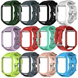 Fewao pour Tomtom Montre Bracelet,Bracelet de Remplacement en Silicone Souple pour...