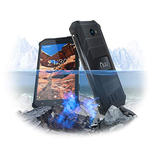 NUU Mobile R1 Unlocked Rugged Cell Phone - 5.0