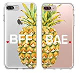 Shark Best Friends/Girlfriend & Boyfriend Pineapple Summer Style Matching Couple Cases for(BAE: iPhone 6 Plus/iPhone 6s Plus)
