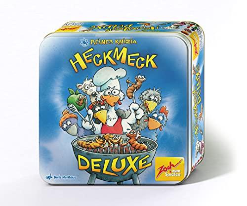 Zoch 601105073 Heckmeck Deluxe, das turbulente Würfelspiel in der praktischen Metalldose, ab 8 Jahren