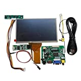 7 inch 1024600 Touch Screen DIY Kit LCD Module with Car Display Monitor Rear Veiw HDMI VGA USB AV Raspberry Pi 3