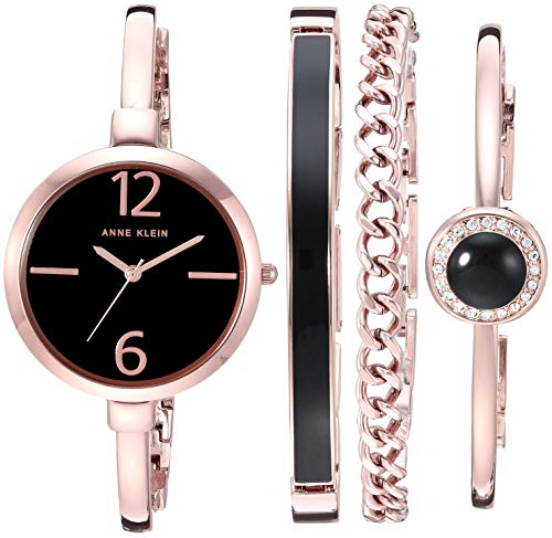 Bangle Watch and Bracelet Set are one of best jewelry Christmas gift for wife