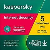 Kaspersky Internet Security 2021   5 Dispositivos   2 Años   PC / Mac / Android   Código de activación enviado por email