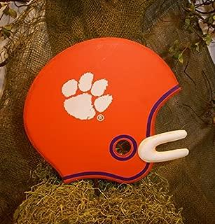 Clemson Tigers Metal Helmet (Yard or Wall Art)