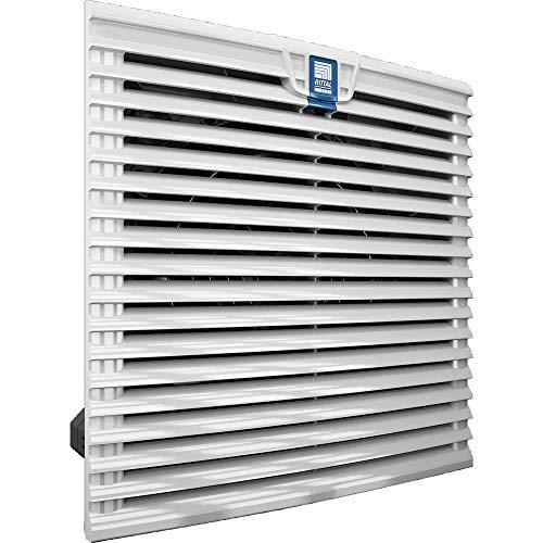 Rittal SK 3243.100 Panel del ventilador - Accesorio de rack (Panel del ventilador, Gris, 230 V, 323 mm, 323 mm, 1 pieza(s))