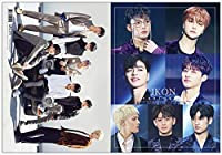 iKON (アイコン) グッズ - プレミアム フォトブック 写真集 (Premium Photo Book) 220mm x 305mm SIZE (34p)