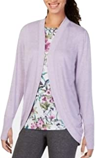 Ideology Womens Open Front Layering Cardigan Top