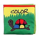 NA HPKDBB Baby Soft Bilderbuch Baby Stoffbuch Badebuch Tuchbuch Kuschelbuch Babybuch Spielbuch Pädagogisches Spielzeug Entdeckungsbuch aus Stoff mit Raschelpapier für Kinder (Stil 3)