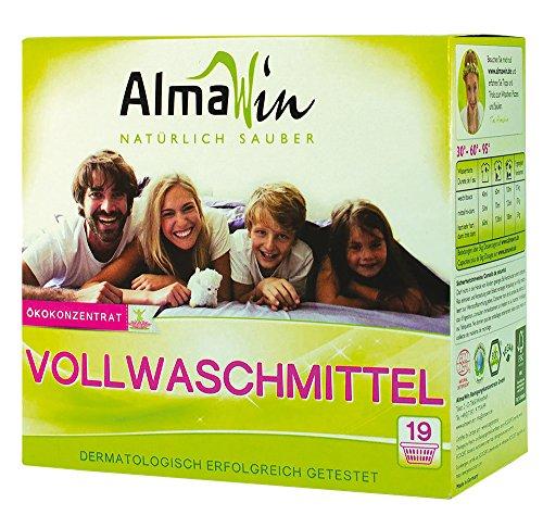 AlmaWin Wollwaschmittel Pulver für Waschmaschine, 19Wäschen–1080gr