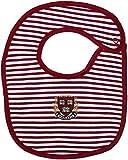 Harvard University Crest Striped Baby Bib