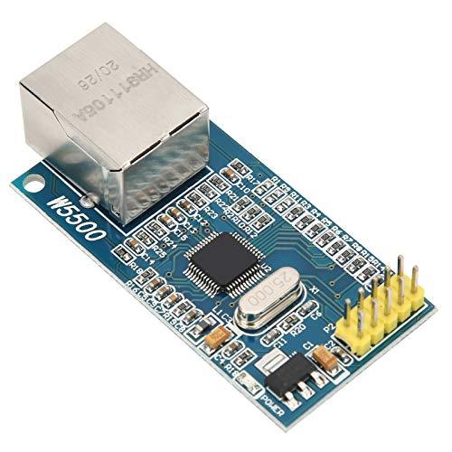 Plyisty Módulo de Red LAN Ethernet para Arduino, módulo Ethernet W5500 TCP/IP 51 / STM32 para Respuesta automática de Soporte de microcontrolador