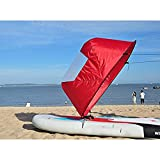 Dyna-Living Kayak Sail,42' Durable Downwind Wind Sail Sup Paddle Board Instant Popup for Kayak Boat...