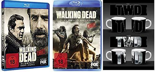The Walking Dead - Staffel 7+8 (+ Walking Dead Tasse) [Blu-ray]