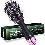 Upgraded Hot Air Hair Brush, Ohuhu Hair Dryer Brush 4 in 1 Electric