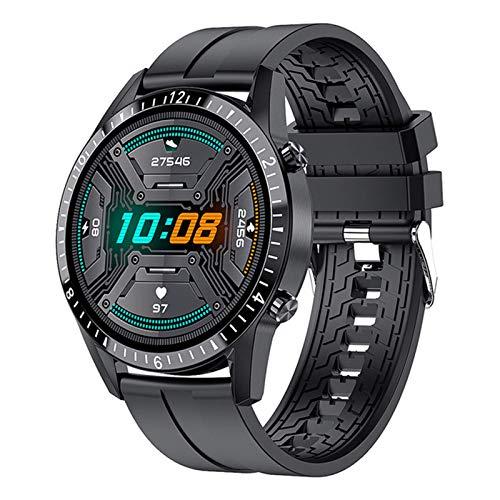 LLM El Nuevo I9 Smart Watch 2021 Bluetooth Call Phone Smartwatch Frecuencia cardíaca Modos Deportivos múltiples para Hombres Impermeable Adecuado para Android iOS(A)