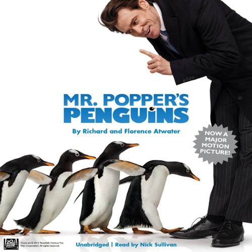 Page de couverture de Mr. Popper's Penguins