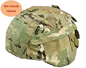 H World Shopping Tactical Airsoft Military MICH 2000 Ver2 Helmet Cover with Back Pouch