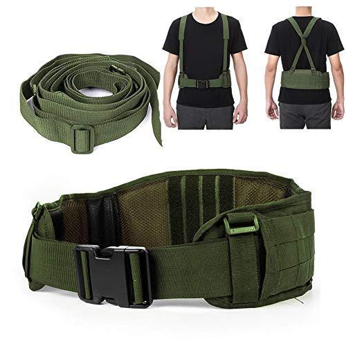 Cinturón Táctico Heavy Duty ajustable seguridad táctico Molle cinturón con libre correa...