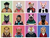 Buffalo Games - Cats in Clothes - 750 Piece Jigsaw Puzzle