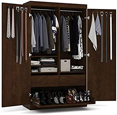 Atlin Designs Pullout Armoire in Chocolate