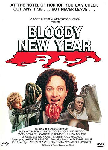 Bloody New Year - Mediabook - Cover B - X-Rated Eurocult-Collection #63 - Limited Edition auf 222 Stück (+ DVD) [Blu-ray]