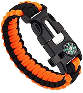 Best flint and steel paracord bracelet Reviews