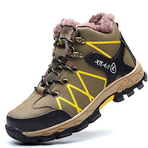 Verde Huaheng Hombre Indestructible a Prueba de Balas Seguridad Zapatos Militar Trabajo Ligero Zapatillas 36