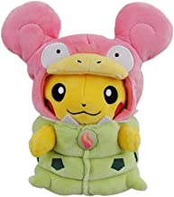 pikachu and slowpoke