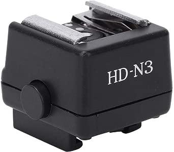 Mugast Hot Shoe Adapter  HD-N3 Flash Light Hot Shoe Mounting Adapter f...