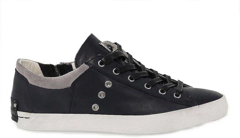 Brödtslighet London herrar CRIM11002 blå blå blå läder skor  klassiskt mode