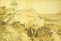 ERZAN1000ピース木製パズルヴィンセントヴァンゴッホヴィンセントヴァンゴッホロックとモンマジュールオランダの遺跡大人パズル のすべ
