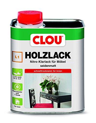 Holzlack L1 seidenmatt 0,750 L