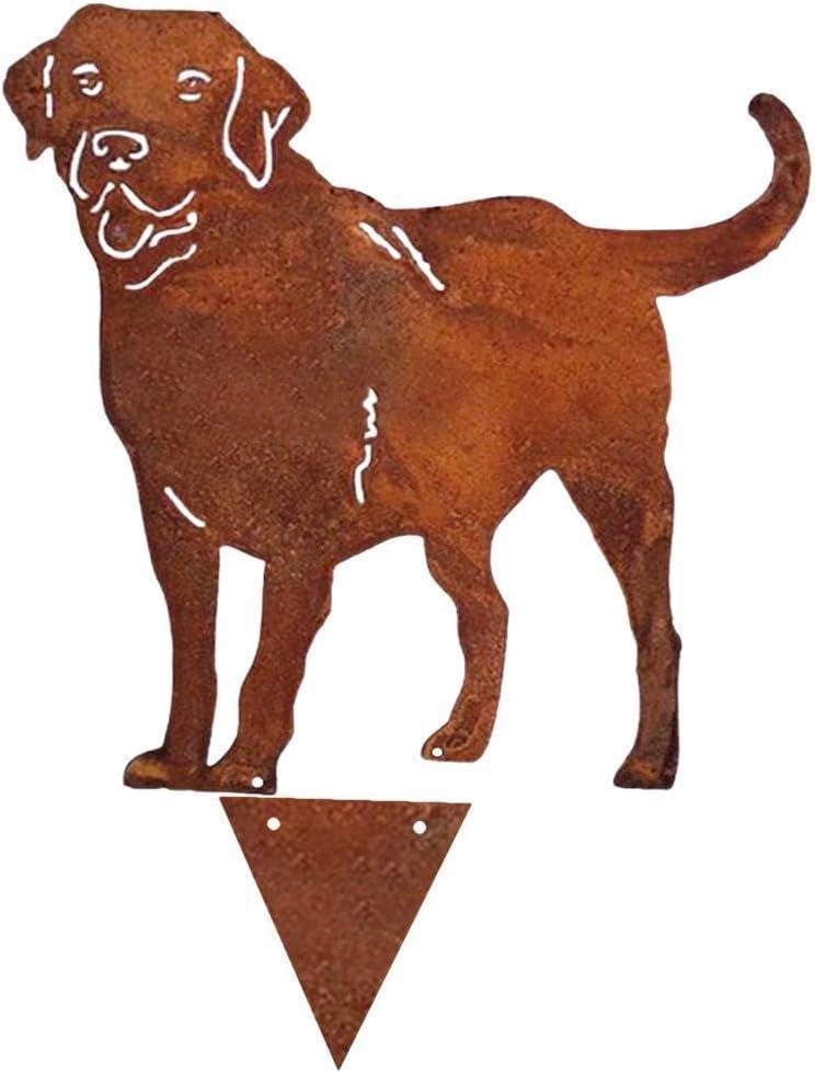 Garden Figurines, Fort Worth Mall Metal Denver Mall Dog Labrador Statues Decor