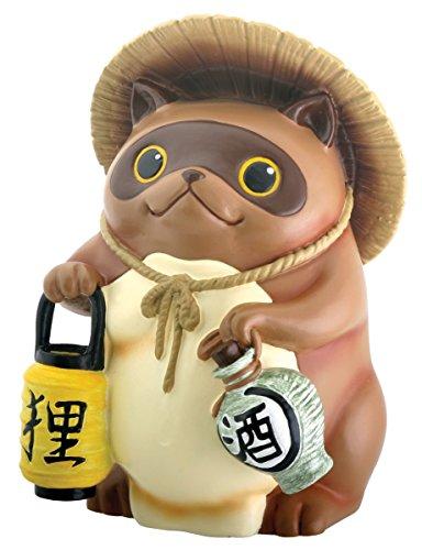 StealStreet Statue Japanischer Tanuki-Waschbär