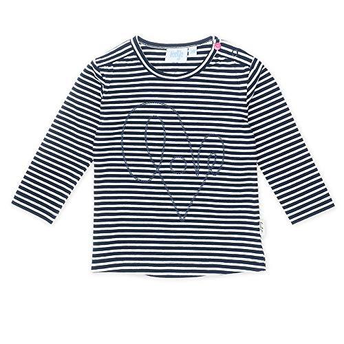 Feetje T-shirt à manches longues rayé Love top bébé vêtements bébé, marine/blanc