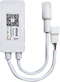 RGBZONE SP501E WiFi LED Controller Compatible with Alexa for Addressable IC RGB Strip WS2812bB SK6812 UCS1903 DC5-24V 900pixel Support 2.4G WiFi