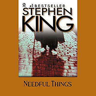 Needful Things     The Last Castle Rock Story              By:                                                                                                                                 Stephen King                               Narrated by:                                                                                                                                 Stephen King                      Length: 25 hrs and 11 mins     1,949 ratings     Overall 4.3
