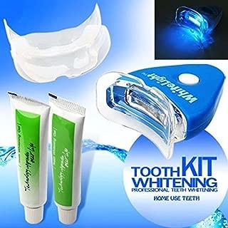 Portal Cool New White Teeth LED Light Whitening Tooth Gel blanqueante salud Oral cuidado Pasta de dientes kit para Personal dental/Boca cuidado sano: kit de dientes blanqueante